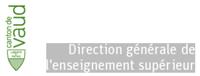 Logo of Direction générale de l'enseignement supérieur du canton de vaud
