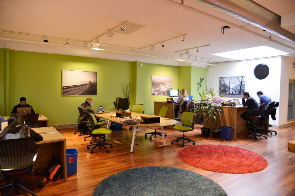 Coworking space at sandboxsuites
